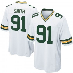 Preston Smith Green Bay Packers Men's Game Nike Jersey - White