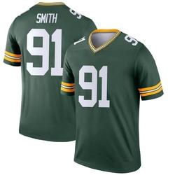 Preston Smith Green Bay Packers Men's Legend Nike Jersey - Green
