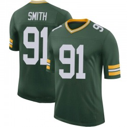 Preston Smith Green Bay Packers Men's Limited 100th Vapor Nike Jersey - Green