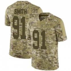 Preston Smith Green Bay Packers Men's Limited 2018 Salute to Service Jersey - Camo
