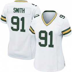 Preston Smith Green Bay Packers Women's Game Nike Jersey - White