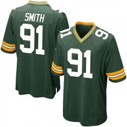 Preston Smith Green Bay Packers Youth Game Team Color Nike Jersey - Green
