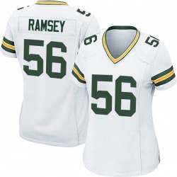 Randy Ramsey Green Bay Packers Women's Game Nike Jersey - White