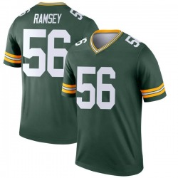 Randy Ramsey Green Bay Packers Youth Legend Nike Jersey - Green