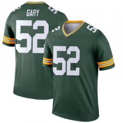Rashan Gary Green Bay Packers Men's Legend Nike Jersey - Green