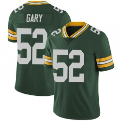 Rashan Gary Green Bay Packers Men's Limited Team Color Vapor Untouchable Nike Jersey - Green
