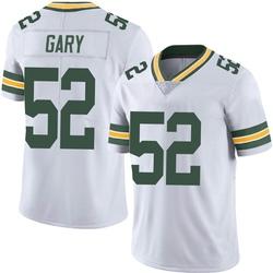 Rashan Gary Green Bay Packers Men's Limited Vapor Untouchable Nike Jersey - White