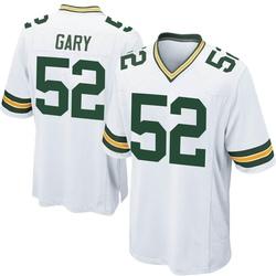 Rashan Gary Green Bay Packers Youth Game Nike Jersey - White