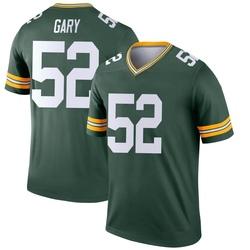 Rashan Gary Green Bay Packers Youth Legend Nike Jersey - Green