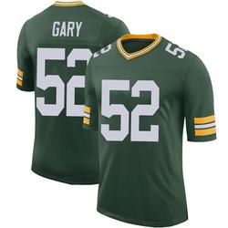 Rashan Gary Green Bay Packers Youth Limited 100th Vapor Nike Jersey - Green