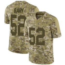 Rashan Gary Green Bay Packers Youth Limited 2018 Salute to Service Nike Jersey - Camo