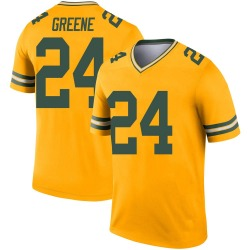 Raven Greene Green Bay Packers Men's Legend Inverted Nike Jersey - Gold