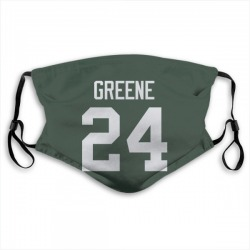 Raven Greene Green Bay Packers Reusable & Washable Face Mask