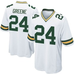 Raven Greene Green Bay Packers Youth Game Nike Jersey - White