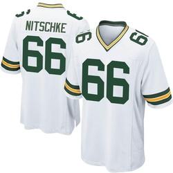 Ray Nitschke Green Bay Packers Men's Game Nike Jersey - White