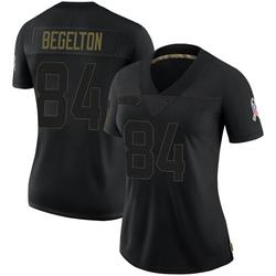 Reggie Begelton Green Bay Packers Women's Limited 2020 Salute To Service Nike Jersey - Black