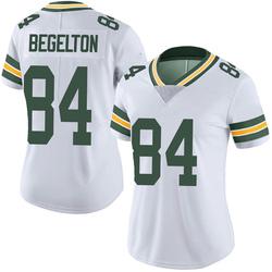 Reggie Begelton Green Bay Packers Women's Limited Vapor Untouchable Nike Jersey - White