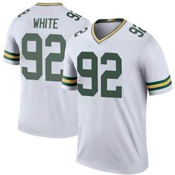Reggie White Green Bay Packers Men's Color Rush Legend Jersey - White