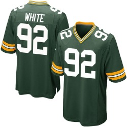 Reggie White Green Bay Packers Men's Game Team Color Nike Jersey - Green