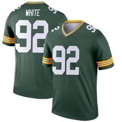 Reggie White Green Bay Packers Men's Legend Jersey - Green
