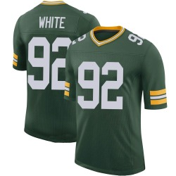 Reggie White Green Bay Packers Men's Limited 100th Vapor Nike Jersey - Green