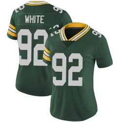 Reggie White Green Bay Packers Women's Limited Team Color Vapor Untouchable Nike Jersey - Green