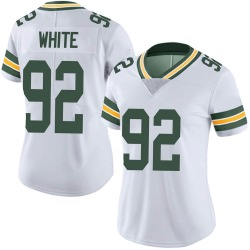 Reggie White Green Bay Packers Women's Limited Vapor Untouchable Nike Jersey - White