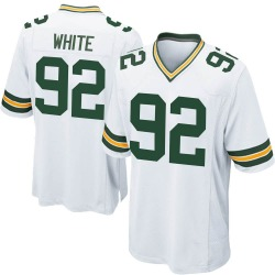 Reggie White Green Bay Packers Youth Game Nike Jersey - White