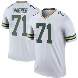 Rick Wagner Green Bay Packers Men's Color Rush Legend Nike Jersey - White
