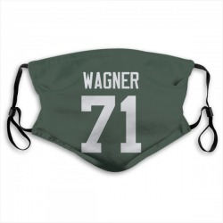 Rick Wagner Green Bay Packers Reusable & Washable Face Mask