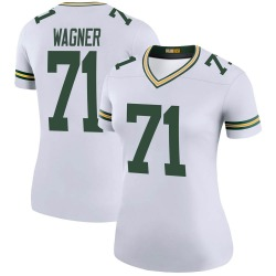 Rick Wagner Green Bay Packers Women's Color Rush Legend Nike Jersey - White