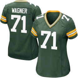 Rick Wagner Green Bay Packers Women's Game Team Color Nike Jersey - Green