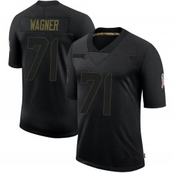 Rick Wagner Green Bay Packers Youth Limited 2020 Salute To Service Nike Jersey - Black