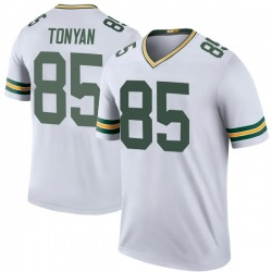 Robert Tonyan Green Bay Packers Men's Color Rush Legend Nike Jersey - White