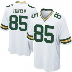 Robert Tonyan Green Bay Packers Men's Game Nike Jersey - White
