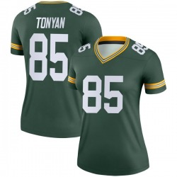 Robert Tonyan Green Bay Packers Women's Legend Nike Jersey - Green