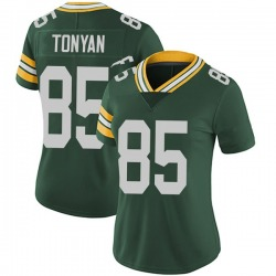 Robert Tonyan Green Bay Packers Women's Limited Team Color Vapor Untouchable Nike Jersey - Green
