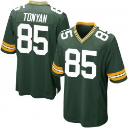 Robert Tonyan Green Bay Packers Youth Game Team Color Nike Jersey - Green