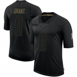 Ryan Grant Green Bay Packers Youth Limited 2020 Salute To Service Nike Jersey - Black