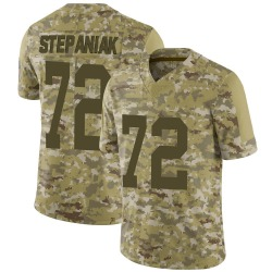Simon Stepaniak Green Bay Packers Men's Limited 2018 Salute to Service Nike Jersey - Camo