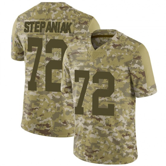 Simon Stepaniak Green Bay Packers Men's Limited 2018 Salute to Service Nike Jersey - Camo