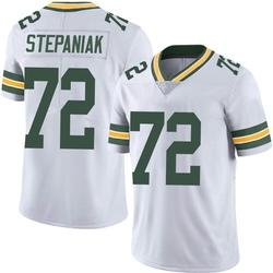 Simon Stepaniak Green Bay Packers Men's Limited Vapor Untouchable Nike Jersey - White