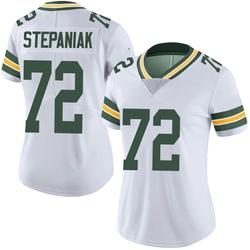 Simon Stepaniak Green Bay Packers Women's Limited Vapor Untouchable Nike Jersey - White
