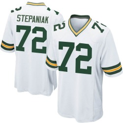 Simon Stepaniak Green Bay Packers Youth Game Nike Jersey - White