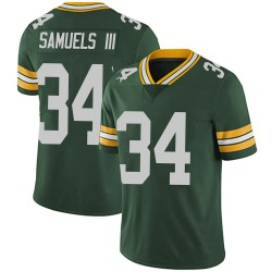 Stanford Samuels III Green Bay Packers Men's Limited Team Color Vapor Untouchable Nike Jersey - Green