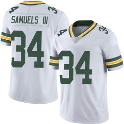 Stanford Samuels III Green Bay Packers Men's Limited Vapor Untouchable Nike Jersey - White