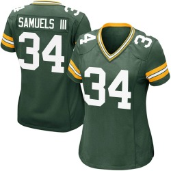 Stanford Samuels III Green Bay Packers Women's Game Team Color Nike Jersey - Green