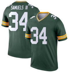 Stanford Samuels III Green Bay Packers Youth Legend Nike Jersey - Green