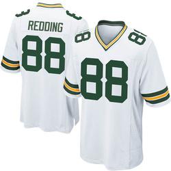 Teo Redding Green Bay Packers Men's Game Nike Jersey - White