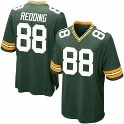 Teo Redding Green Bay Packers Men's Game Team Color Nike Jersey - Green